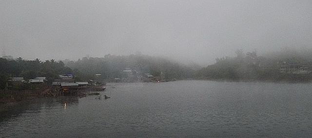 Early morning Khao Laem Lake