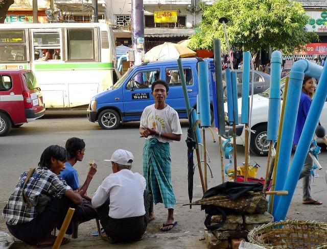 Mandalay Street Scene