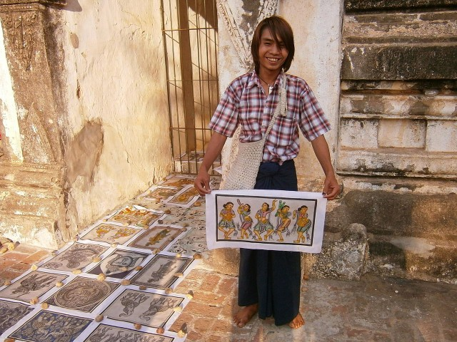 Bagan Sandpainter