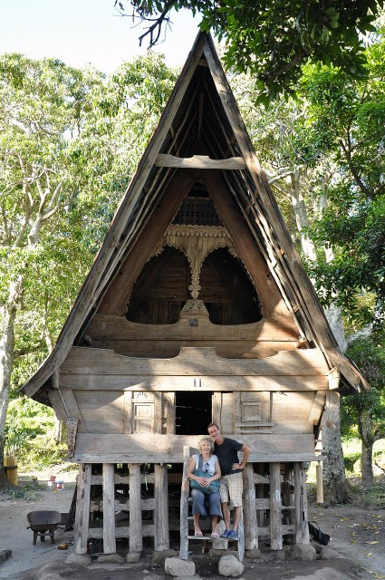 300 year old Batak House