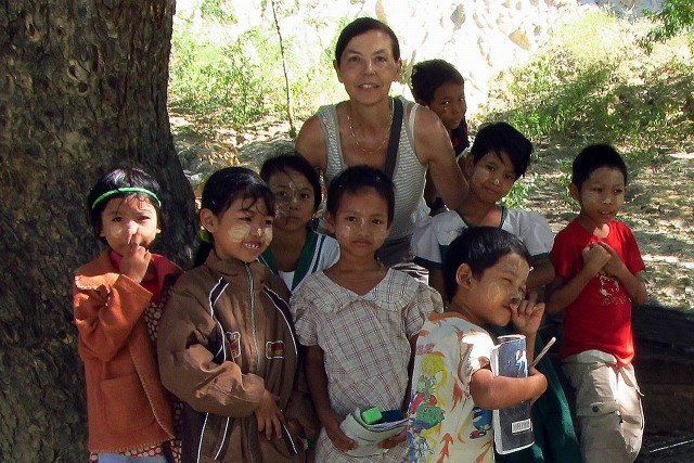 Therese in Myanmar