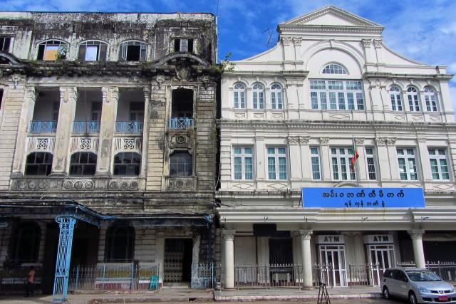 Changing Yangon