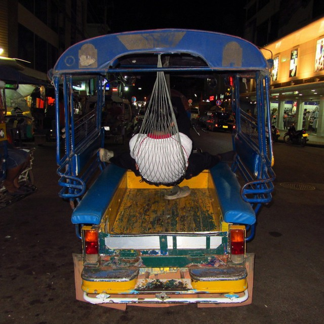 Tuktuk hammock