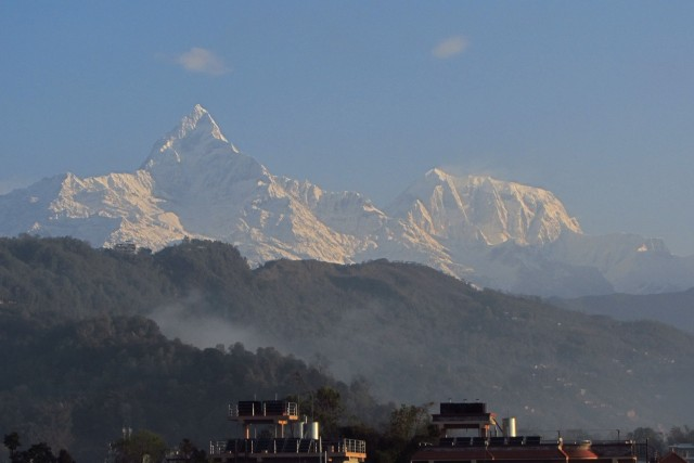 Machhapuchchhre, sacred mmontain